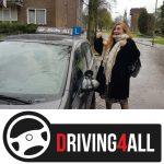In 1 keer geslaagd voor rijbewijs B